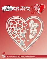 "BY LENE DIES ""Hearts"""