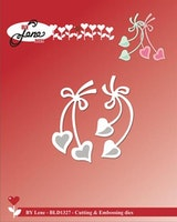 """BY LENE DIES """"Hanging Hearts"""""""