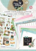 Studio Light Die Cut block - Love & Home