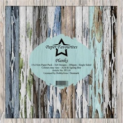 """Paper Favourites Paper Pack """"Planks"""""""