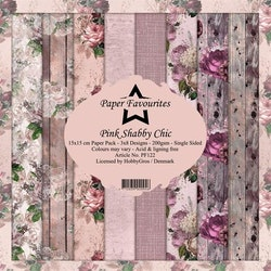 """Paper Favourites Paper Pack """"Pink Shabby Chic"""""""
