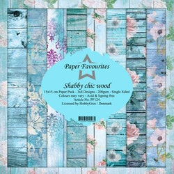 """Paper Favourites Paper Pack """"Shabby chic wood"""""""