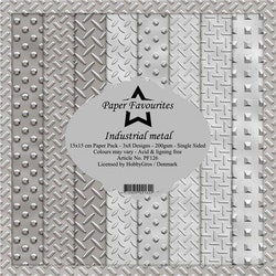 """Paper Favourites Paper Pack """"Industrial Metal"""""""