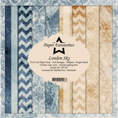 """Paper Favourites Paper Pack """"London Sky"""""""