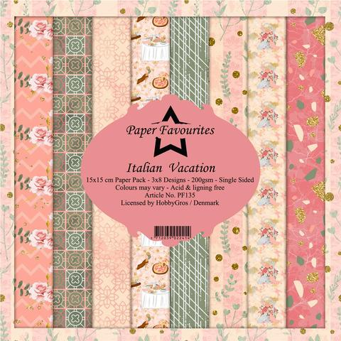 """Paper Favourites Paper Pack """"Italian Vacation"""""""
