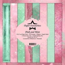 """Paper Favourites Paper Pack """"Pink and Mint"""""""