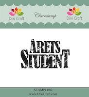 DIXI CRAFT CLEARSTAMP - Årets Student