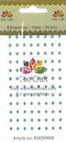 Dixi Craft Rhinsten 3mm  Babyblå