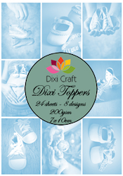 DIXI CRAFT TOPPERS 7X10CM 24
