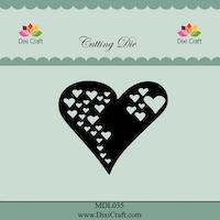 DIXI CRAFT DIES - Heart