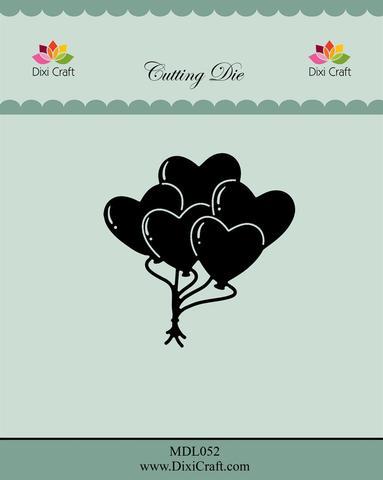 DIXI CRAFT DIES - Heart balloons