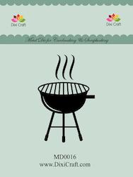 "Dixi Craft Die ""Grill"""
