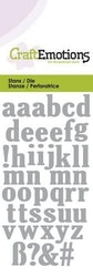 CraftEmotions Die - lowercase alphabet
