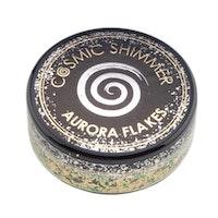 "Cosmic Shimmer Aurora Flakes ""Jade Gold"" 50 ml"