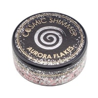 """Cosmic Shimmer Aurora Flakes """"Icy Pink"""" 50 ml"""