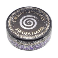 """Cosmic Shimmer Aurora Flakes """"Frosted Violet"""" 50 ml"""