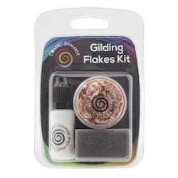 """Cosmic Shimmer Gilding Flakes Kit """"Copper Kettle"""""""