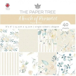 """Paper Tree Paperpad """"Touch Of Romance"""""""