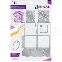 """Gemini Die """"Square Petal Box"""""""