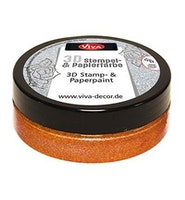 """Viva Decor 3D Stamp-and Paperpaint """"Copper"""""""