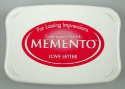 Memento Stämpeldyna - Love Letter