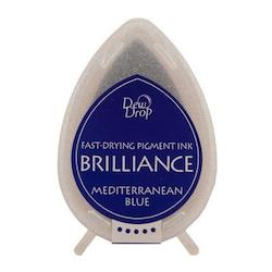 Brilliance Dew Drop Mediterrenian Blue