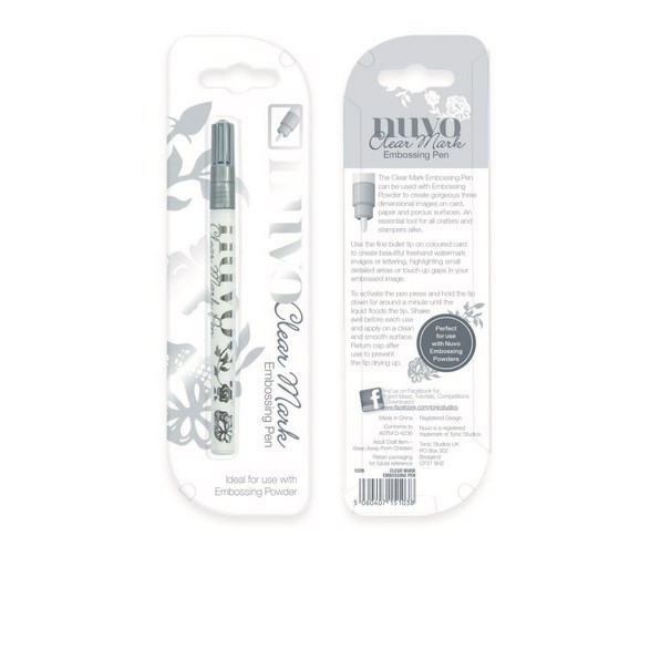 Nuvo Embossingpenna - Clear