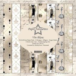 "Paper Favourites Paper Pack ""Vin blanc"""