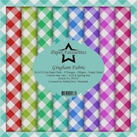 """Paper Favourites Paper Pack """"Gingham Fabric"""""""