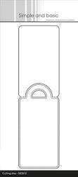 Simple and Basic die - Pierced Tag