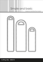 Simple and Basic die - Pierced Labels
