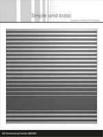 "Simple and Basic 3D Embossingfolder ""Stripes"""