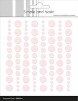 """Enamel Dots """"Baby Rose"""