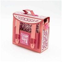 Memory Book Satchel Bag Die Set