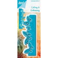JOY CUT / EMB - Border Butterfly