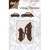 JOY CUT - VINTAGE Fiat & VW Beetle - Dies