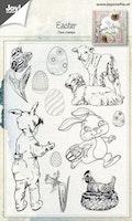 "JOY Clearstamp -   ""Easter"""