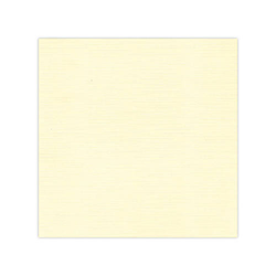 10 pack Cardstock Linen - Cream