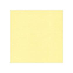 10 pack cardstock Linen - Light yellow