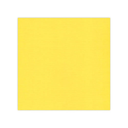10 pack Cardstock Linen - Bright Yellow