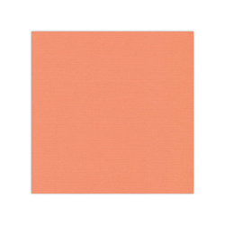 10 pack Cardstock Linen - Soft Orange