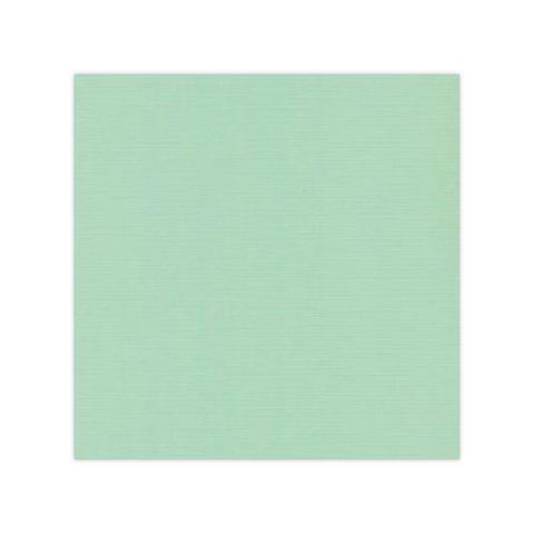 10 pack Cardstock Linen - Medium Green