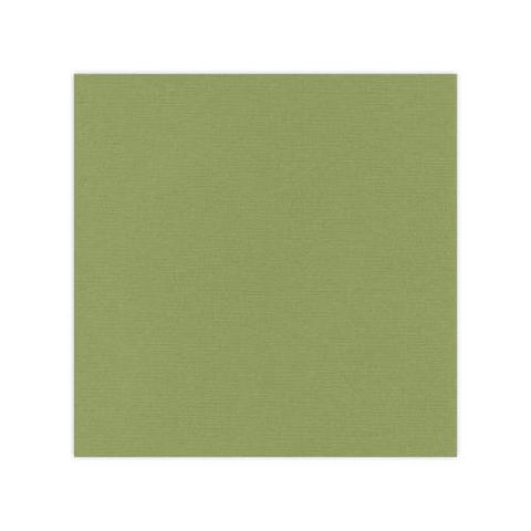 10 pack Cardstock Linen - Olive Green