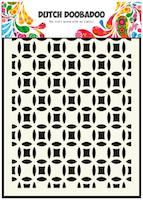 DDBD Mask Stencil A5 - Small Circles
