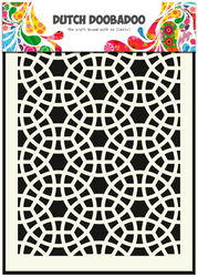 DDBD Mask Stencil A5 - Mosaic
