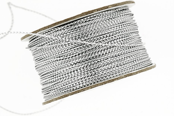 Silverband - säljes i hela meter