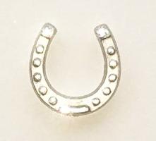 Hästsko 15 mm silver/Bronze färgade - 5 pcs