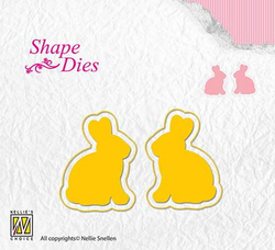 Nellie Snellen SHAPE DIE - Rabbits