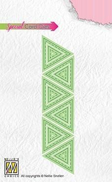 """Nellie Snellen Patchwork Dies """"Triangles"""""""
