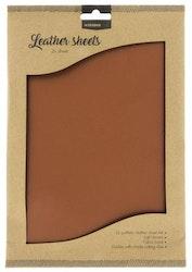 "Studio Light Fake Leather ""Light Brown"" 2 x A4"